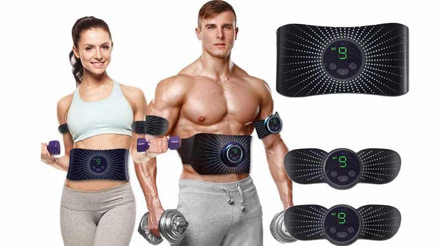 elektrischen EMS Bauchmuskeltrainer