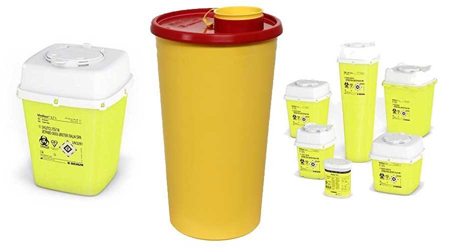 medizinischen Entsorgungsbehälter